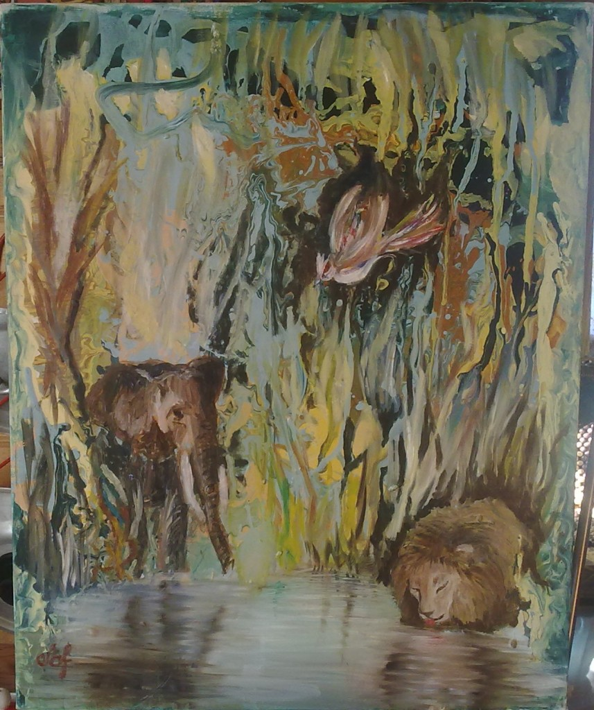 Картина Жажда, или троица