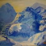 Картина Зимняя дорога