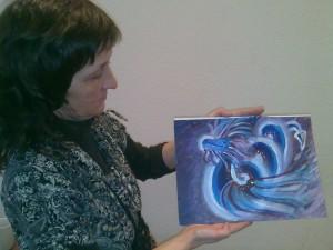 мастер-класс Рисуем Дракона-2012