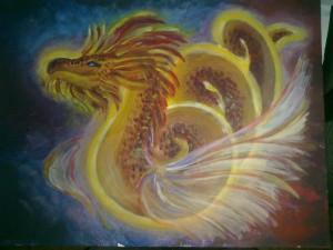 как нарисовать дракона к новому году