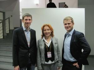 Инфоконференция-2011, Ходченков, Гаврилов, Елена Ладная