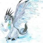 символ года 2012 Дракон смешной