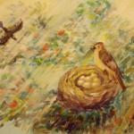 Образ Гнездо с яйцами- материализуем семью