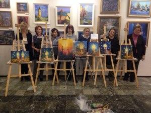 Выставка художников: последний мастер-класс состоялся!