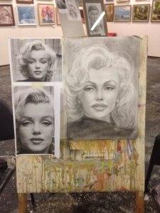 Выставка художников: новости с мастер-классов – Подсолнухи и Портреты