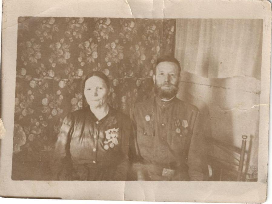 Елизавета Дмитриевна и Александр Семенович Хаймины