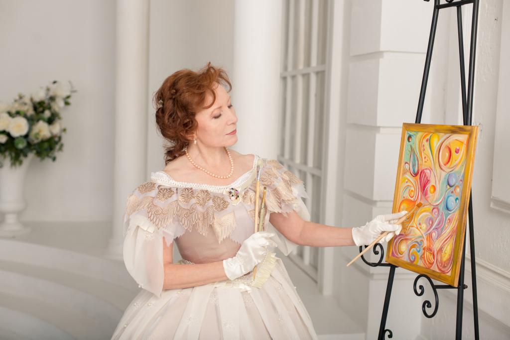 мастер-классы масляной живописи Елены Ладной