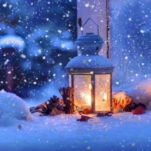 Зимний фонарь